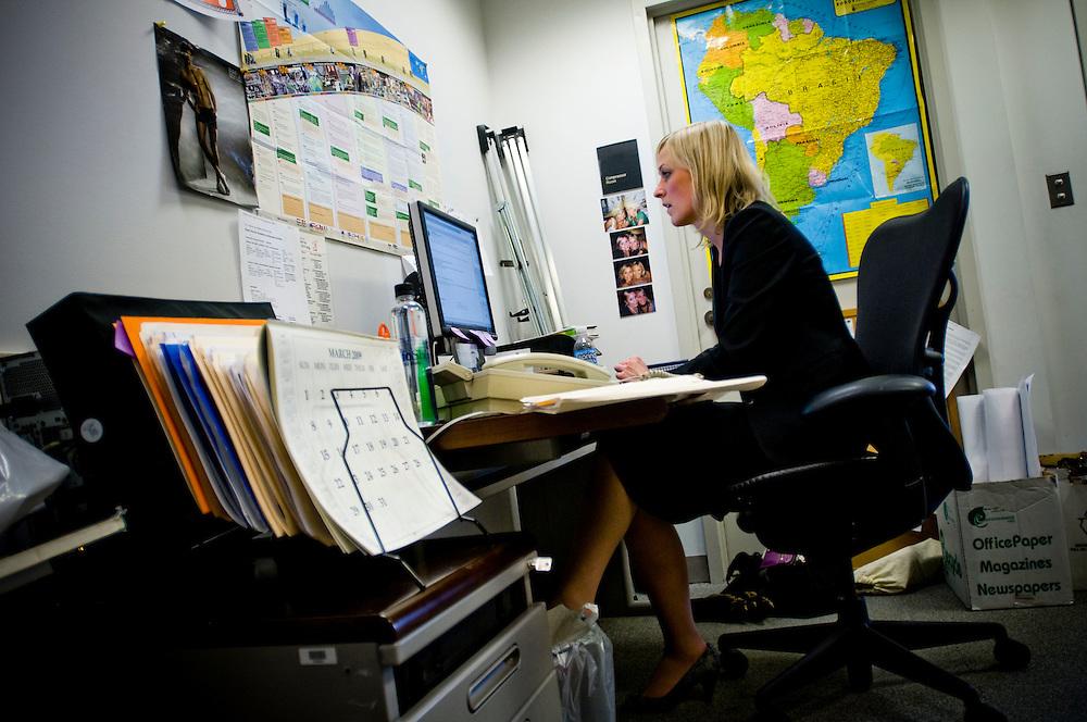 Svenskar i DC..Maria Ekman, världbanken