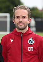 KNOKKE-HEIST, BELGIUM - JULY 10: Devy Rigaux, team manager of Club Brugge, during the 2019 - 2020 season photo shoot of Club Brugge on July 10, 2019 in Knokke-Heist, Belgium. (Photo by Vincent Van Doornick/Isosport)