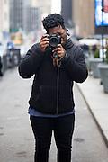 Street fashion photographer Sean Williams
