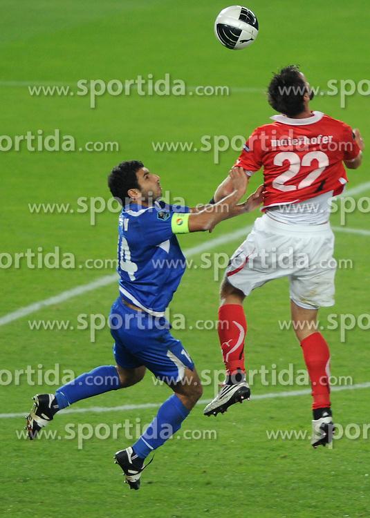 08.10.2010, Ernst Happel Stadion, Wien, AUT, UEFA 2012 Qualifiers, Austria vs Azerbaidschan, im Bild, EXPA Pictures 2010, PhotoCredit: EXPA/ S. Trimmel