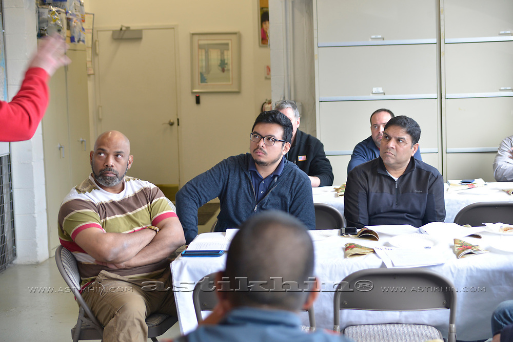 CWA Union CWA local 1101, meeting in Powercom, 2017.