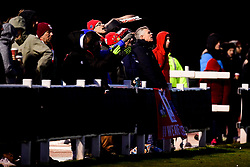 Bristol City Women fans - Mandatory by-line: Ryan Hiscott/JMP - 08/12/2019 - FOOTBALL - Stoke Gifford Stadium - Bristol, England - Bristol City Women v Birmingham City Women - Barclays FA Women's Super League