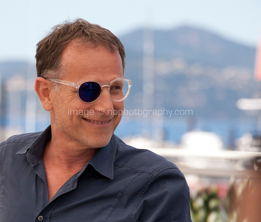 Actor Charles Berling at the Elle film photo call at the 69th Cannes Film Festival Saturday 21st May 2016, Cannes, France. Photography: Doreen Kennedy