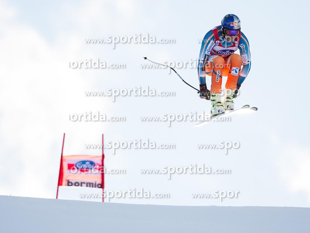 28.12.2013, Stelvio, Bormio, ITA, FIS Ski Weltcup, Bormio, Abfahrt, Herren, 2. Traininglauf, im Bild Aksel Lund Svindal (NOR) // Aksel Lund Svindal of Norway in action during mens 2nd downhill practice of the Bormio FIS Ski Alpine World Cup at the Stelvio Course in Bormio, Italy on 2012/12/28. EXPA Pictures © 2013, PhotoCredit: EXPA/ Johann Groder