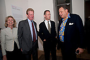 SIR NICHOLAS SEROTA; JOHNNY PIGOZZI, Pop Life in a Material World. Tate Modern. London. 29 September 2009.