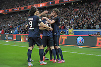 joie PSG / Adrien Rabiot - 23.05.2015 - PSG / Reims - 38eme journee de Ligue 1<br />