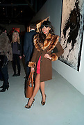 JAMEELA JAMIL, Richard Hambleton private view.- New York- Godfather of Street art presented by Vladimir Restoin Roitfeld and Andy Valmorbida in collaboration with Giorgio armani. The Old Dairy. London. 18 November 2010. -DO NOT ARCHIVE-© Copyright Photograph by Dafydd Jones. 248 Clapham Rd. London SW9 0PZ. Tel 0207 820 0771. www.dafjones.com.