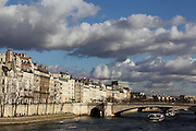 Views along the River Seine in Paris