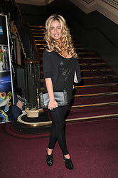 Chantelle Houghton at the opening night of Totem by Cirque du Soleil held at The Royal Albert Hall, London on 5th January 2011.