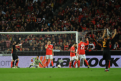 February 22, 2019 - Na - Lisbon, 21/02/2019 - SL Benfica received Galatasaray SK tonight at Est√°dio da Luz in the second qualifying round of the Europa League 2018/2019. Odisseas  (Credit Image: © Atlantico Press via ZUMA Wire)