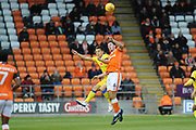 Blackpool Defender, Ben Heneghan (6)during the EFL Sky Bet League 1 match between Blackpool and Bristol Rovers at Bloomfield Road, Blackpool, England on 3 November 2018.