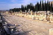 TURKEY, GREEK AND ROMAN Hierapolis-Pamukkale street 1-3c.AD