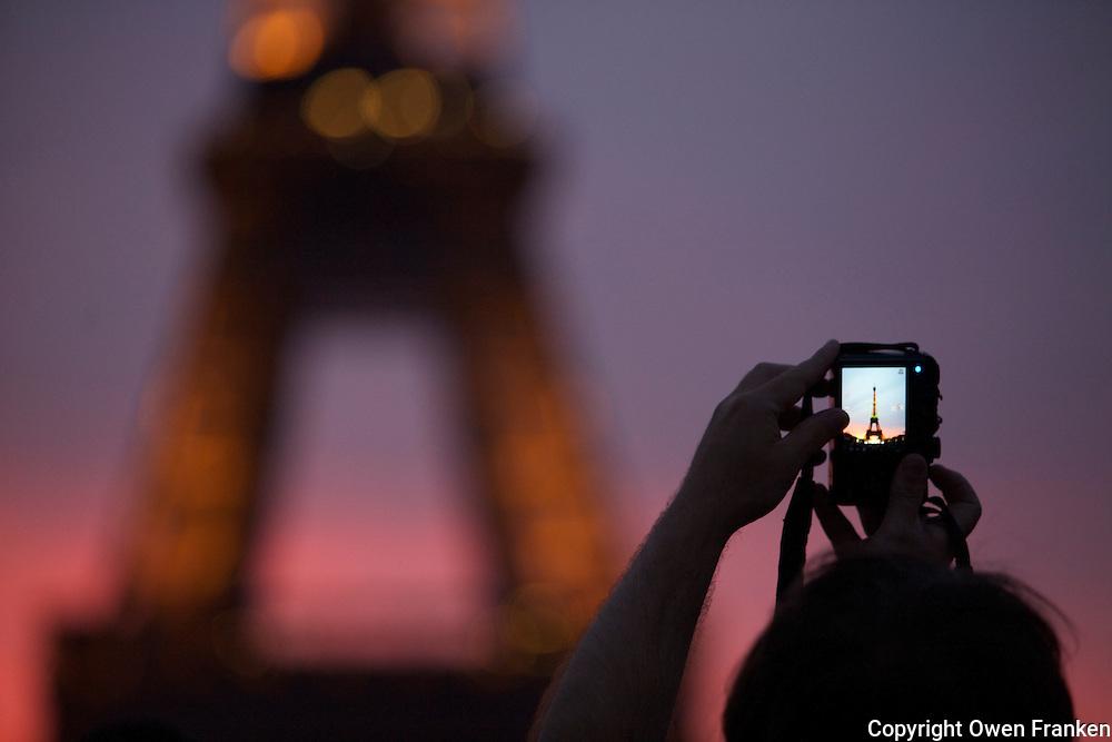 Eiffel Tower, July 14-2011