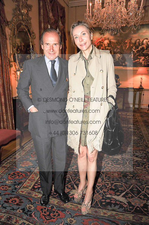 SIMON DE PURY and Michaela Neumeister at a party to celebrate the 250th anniversary of the Colnaghi Gallery held at Spencer House, London on 1st July 2010.