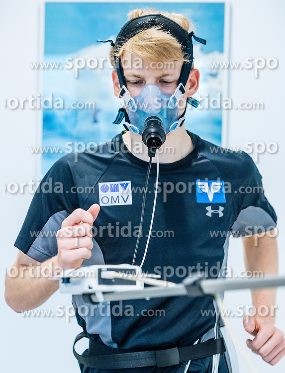 02.05.2016, Bezirkskrankenhaus, St. Johann i.T., AUT, OeSV, Skisprung, Sportmedizinische Untersuchung, im Bild Michael Hayböck (AUT) // Michael Hayboeck of Austria undergoes his medical examination of the Austrian Skijumping Team at the Sports Medicine Institute, St. Johann i.T. on 2016/05/02. EXPA Pictures © 2016, PhotoCredit: EXPA/ JFK