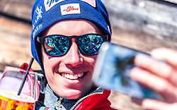 02.04.2018, Skizentrum Hochzillertal, Kaltenbach, AUT, JumpandReach Skitag, im Bild Stefan Kraft // during the Skiing Day after the Winterseason with the Austrian JumpandReach Athletes at the Skiresort Hochzillertal, Austria on 2018/04/02. EXPA Pictures © 2018, PhotoCredit: EXPA/ JFK