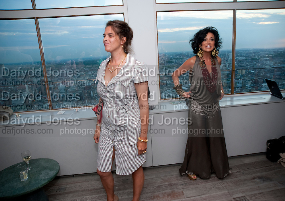 TRACEY EMIN; NANCY DELL' D'OLIO, Dinner hosted by Julia Peyton-Jones and Hans Obrist for the Council of the Serpentine to celebrate: Jeff Koons, Popeye Series. Paramount Club, Paramount Centre Point. London. 30 June 2009