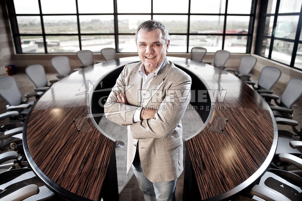 O diretor-presidente da Vonpar, franqueada da Coca-Cola no Rio Grande do Sul e em Santa Catarina, Ricardo Vontobel na sede da empresa, em Porto Alegre. FOTO: Jefferson Bernardes/Preview.com