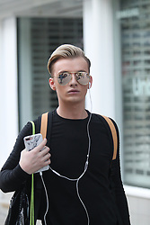 Harry Derbridge seen in Manchester city centre Harry Durbridge recently moved to Manchester after leaving ITV show  The Only Way Is Essex