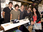 HMV welcomed The Coronas to HMV Galway  for a live performance and to sign copies of their highly anticipated third album Closer To You and met Fallon Crossan , Menlough, Galway. Photo:Andrew Downes.