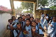Kids at CRINEO school, Pulicat Lake, Tamil Nadu, India