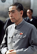 Zhou Enlai (5 March 1898 – 8 January 1976) first Prime Minister of the People's Republic of China, from October 1949 until his death in January 1976. Zhou was instrumental in the Communist Party's rise to power and the development of the Chinese economy
