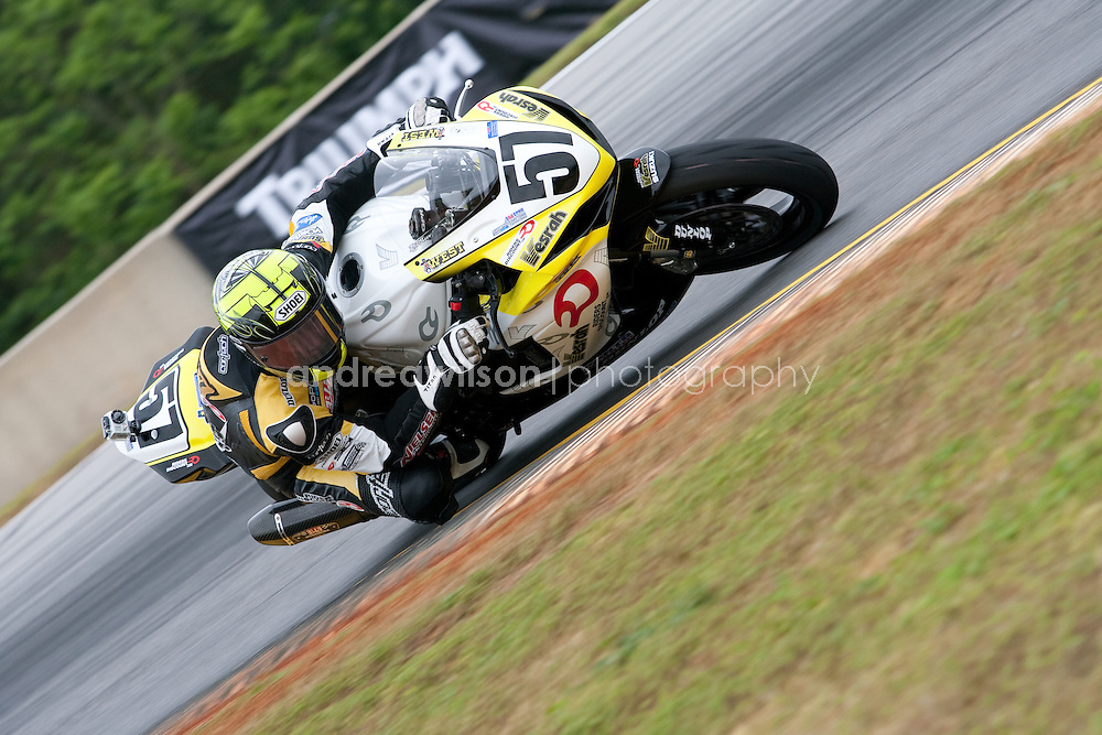 Road Atlanta - Round 2 - AMA Pro Road Racing - AMA Superbike - Braselton, GA - April 10-22 2012:: Contact me for download access if you do not have a subscription with andrea wilson photography. ::  ..:: For anything other than editorial usage, releases are the responsibility of the end user and documentation will be required prior to file delivery ::..
