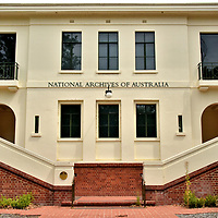 National Archives of Australia in Canberra, Australia<br />
