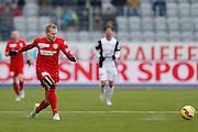 07.02.2015; Thun; Fussball Super League FC Thun - FC Aarau: Gaetan Karlen (Thun)(Christian Pfander/freshfocus)