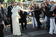 Euroskills 2008 Rotterdam - EuroSkills, a new European profession event, where young people in an addressing manner live their (future) profession and training.<br /> <br /> On the Photo: <br />  Princess Maxima Rrives at Euroskills