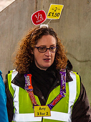 Pictured: Lorraine Tulloch (Obesity Action )<br /><br />Food bank managers, unions, and farmers shared lunch while they met with MSPs on International Human Rights Day to discuss the upcoming Good Food Nation Bill<br /><br />Ger Harley | EEm 10 December 2019
