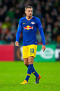 Stefan Ilsanker (#13) of RB Leipzig during the Europa League group stage match between Celtic and RP Leipzig at Celtic Park, Glasgow, Scotland on 8 November 2018.