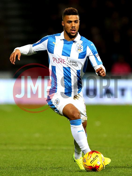 Elias Kachunga of Huddersfield Town - Mandatory by-line: Robbie Stephenson/JMP - 02/02/2017 - FOOTBALL - John Smith's Stadium - Huddersfield, England - Huddersfield Town v Brighton and Hove Albion - Sky Bet Championship