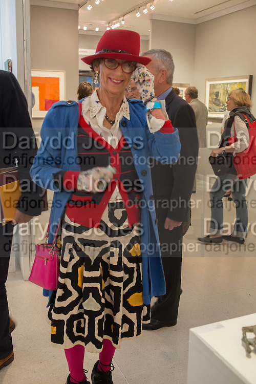 LADY HENRIETTA ROUS, 20/21 British Art Fair. Celebrating its 25 Anniversary. The Royal College of Art . Kensington Gore. London. 12 September 2012.
