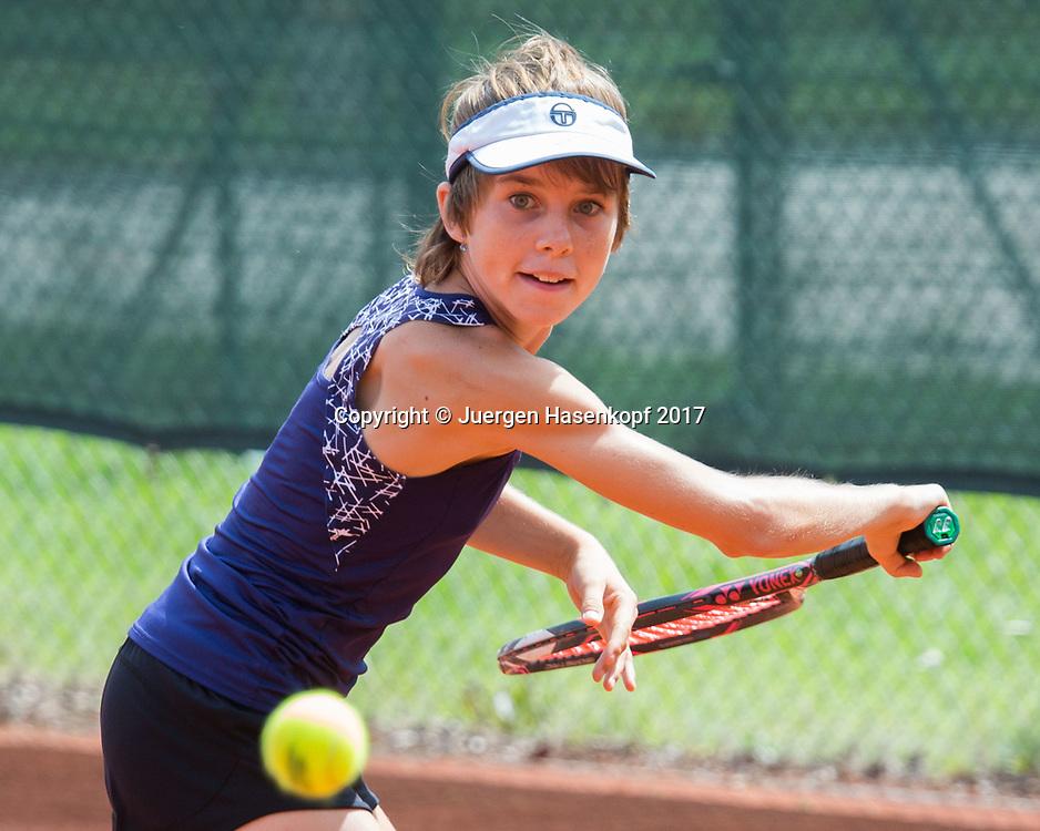 LINDA NOSKOVA (CZE), Bavarian Junior Open 2017, Tennis Europe Junior Tour, GS16<br /> <br /> Tennis - Bavarian Junior Open 2017 - Tennis Europe Junior Tour -  SC Eching - Eching - Bayern - Germany  - 9 August 2017. <br /> &copy; Juergen Hasenkopf