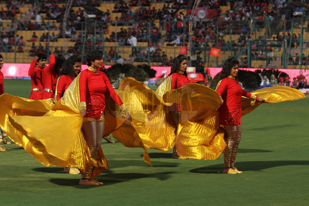 Opening ceremony during match 5 of the Vivo 2017 Indian Premier League between the Royal Challengers Bangalore and the Delhi Daredevils held at the M.Chinnaswamy Stadium in Bangalore, India on the 8th April 2017Photo by Prashant Bhoot - IPL - Sportzpics