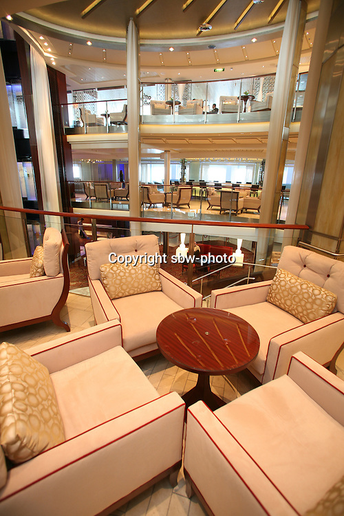 Celebrity Eclipse interior photos..Cafe