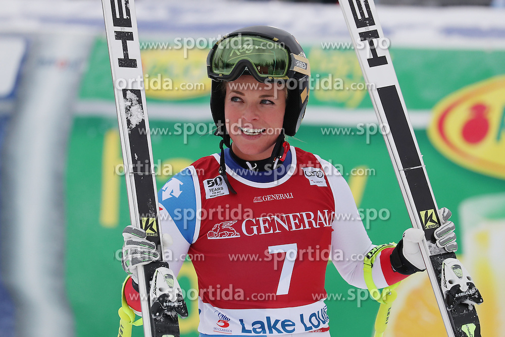 02.12.2016, Lake Louise, USA, FIS Weltcup Ski Alpin, Lake Louise, Abfahrt, Damen, im Bild Lara Gut (SUI) // Lara Gut of Switzerland during Women's Downhill of the Lake Louise FIS Ski Alpine World Cup. Lake Louise, United States on 2016/12/02. EXPA Pictures &copy; 2016, PhotoCredit: EXPA/ SM<br /> <br /> *****ATTENTION - OUT of GER*****