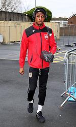 Jonathan Kodija of Bristol City arrives at Turf Moor - Mandatory byline: Matt McNulty/JMP - 07966 386802 - 28/12/2015 - FOOTBALL - Turf Moor - Burnely, England - Burnley v Bristol City - Sky Bet Championship