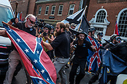 "In Charlottesville, Virginia, on Saturday, August 12, 2017 a where a white-nationalist ""Unite the Right"" rally starring several of the alt-right's leading lights turned violent. At the end of the day, three people had died, and at least 19 more were injured. Photos by Justin Ide"
