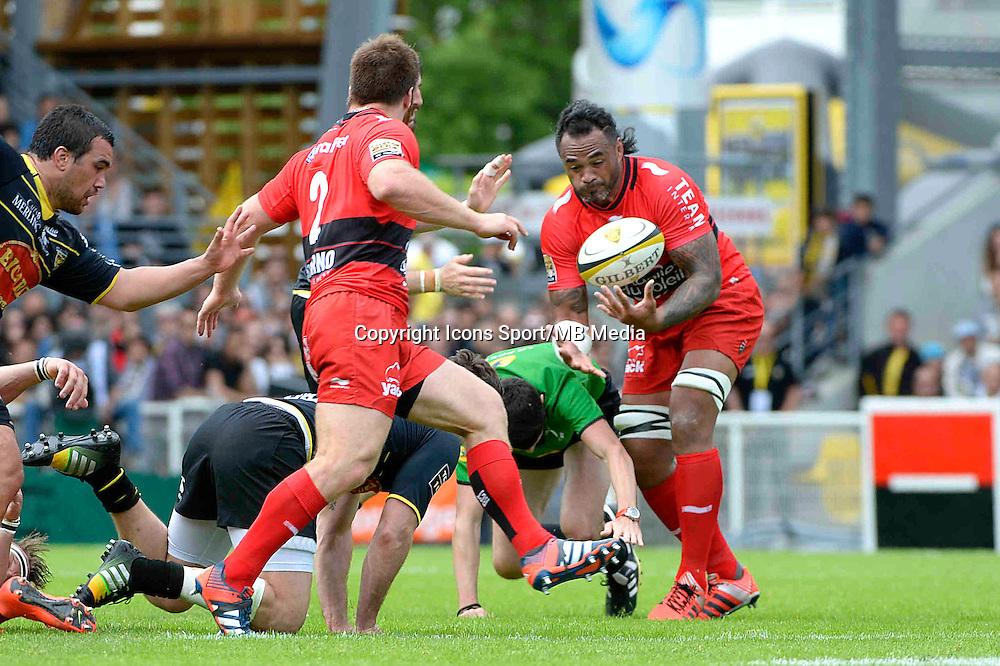 Jocelino SUTA - 25.04.2015 - La Rochelle / Toulon - 23eme journee de Top 14<br />Photo : Caroline Blumberg / Icon Sport