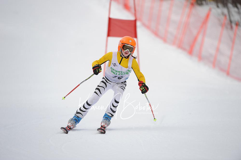 BWL at Gunstock for J5 giant slalom and J4 slalom runs March 3, 2012.