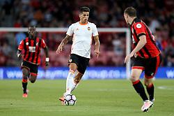 Joao Cancelo of Valencia runs with the ball - Mandatory by-line: Robbie Stephenson/JMP - 03/08/2016 - FOOTBALL - Vitality Stadium - Bournemouth, England - AFC Bournemouth v Valencia - Pre-season friendly