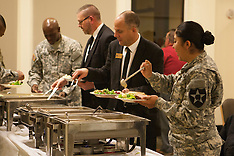 Army Thanksgiving Dinner 2015