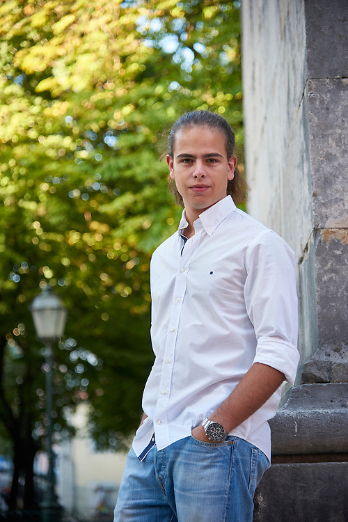 Lisboa, 18/08/2016 - Hugo Carvalho, presidente do Conselho Nacional de Juventude em entrevista sobre o desemprego jovem.<br /> (Paulo Alexandrino / Global Imagens)