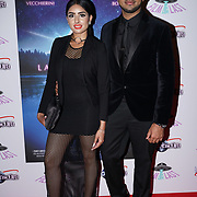London, England, UK. 14th September 2017.Blogger Taiba Rajab, Yusuf_London attend the Landing Lake Film Premiere at Empire Haymarket,London, UK.