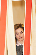 052316 Queen Letizia attends teh Opening of the exhibition 'Recognizing the Spanish Heritage'