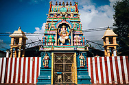 A small temple dedicated to Lord Ganesha, Jaffna, Sri Lanka, Asia