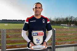 Sabri Lamouchi wins the Sky Bet Manager of the month - Mandatory by-line: Dougie Allward/JMP - 06/02/2020 - FOOTBALL -  - Nottingham, England - Sky Bet Championship MOTM