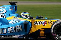 Giancarlo Fisichella, USGP, 2005